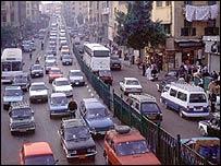 Traffic in Cairo