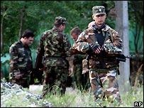 Armed police in Chechnya - 20/06/2007