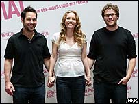 Paul Rudd, Leslie Mann and Seth Rogan