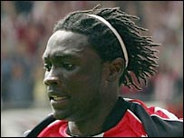 Southampton striker Kenwyne Jones