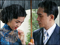 Tang Wei and Tony Leung Chiu-wai in Lust, Caution