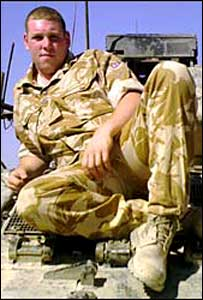 Private Craig Barber, picture from MoD