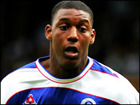 QPR striker Ray Jones, who has died in a car crash