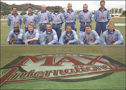 England took on New Zealand in three Cricket Max internationals in 1997
