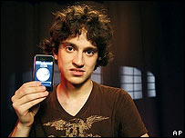 George Hotz shows an unlocked iPhone