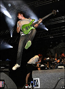 Enter Shikari at Reading Festival 2007