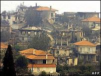 بلدة ماكينوس باليونان