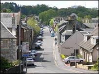 Lochwinnoch. Picture courtesy of Undiscovered Scotland