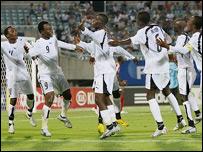 Ghana under-17 team