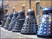 Row of daleks (Pic: John Ryan)