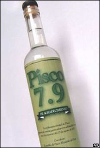 Bottle of Pisco 7.9