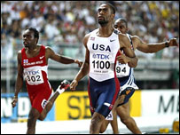 El estadounidense Tyson Gay