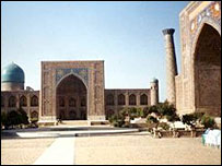 Registan in Samarkand (file)