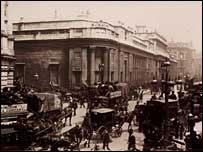 El Banco de Inglaterra.