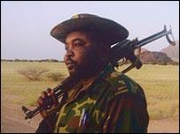 Darfur rebel leader Abdul Wahid El Nur (archive)