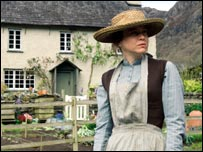 Renee Zellweger as Miss Potter in Cumbria