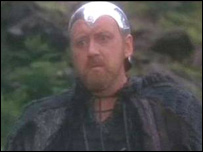 Nicol Williamson as Merlin in Excalibur