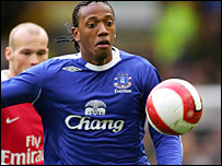 Manuel Fernandes spent part of last season on loan at Everton