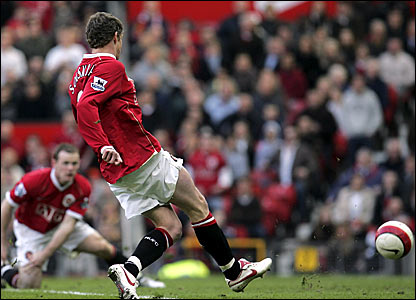 Ole Gunnar Solskjaer's final Manchester United goal is, like his first, scored against Blackburn
