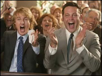 Owen Wilson and Vince Vaughn in Wedding Crashers