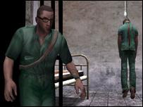 manhunt hanged