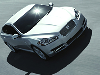 Jaguar XF (pic by Jaguar)