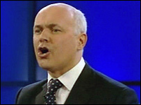 Iain Duncan Smith at the 2003 party conference
