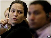 The girl's mother Elena Perez