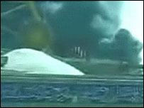 Footage of Karbala attacks