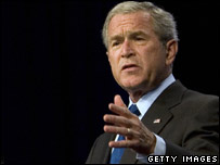 President Bush (file picture)