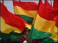 Manifestación indígena en Santa Cruz / Foto de archivo