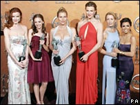 Cast of Desperate Housewives receiving awards