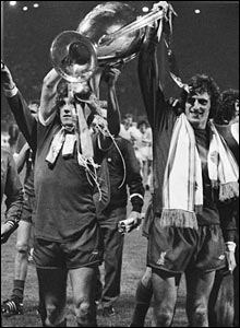 Ray Clemence helped Liverpool win three European Cups