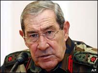 Turkish Chief of Staff Gen Yasar Buyukanit