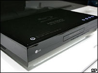 LG's dual-format DVD player