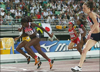Ohuruogu and Sanders take gold and silver