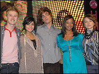 The lead cast of High School Musical