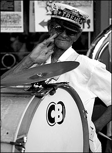 Jazz and blues musician Uncle Lionel Batiste