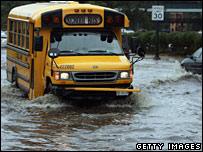 Flooding in Geneva, Illinois, US  Image: Jeff Haynes/AFP/Getty Images