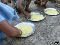 Plates of rice. Image: AFP