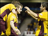 Motherwell had to work hard for their win
