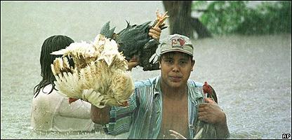 Inundaciones en Nicaragua, 1998