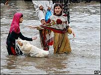 Inundaciones en Pakistán, 2007