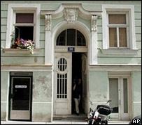The building in Vienna where Josef Schweiger was killed.