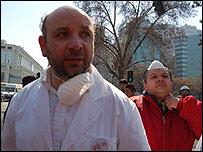 Juan Luis Castro, presidente del Colegtio Médico de Chile