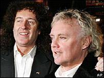 Brian May and Roger Taylor