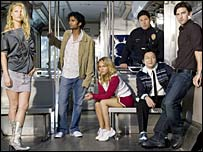 Cast members of TV show Heroes