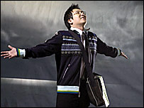 Masi Oka, who plays Hiro Nakamura in Heroes
