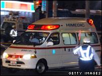 A Japanese ambulance