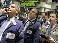 Traders on Wall Street